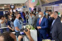 neptun-exhebition-big-5-egypt-minister-visit