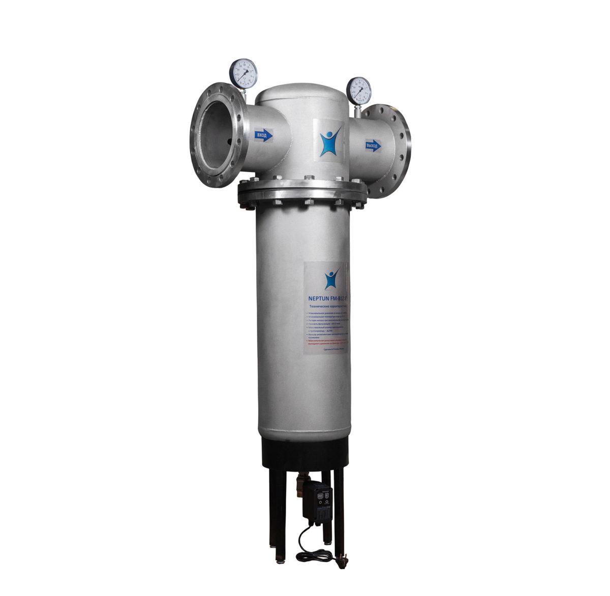 промышленный фильтр для воды, самопромывной, механический фильтр