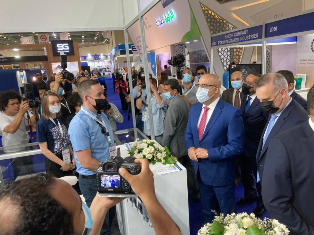 Министр жилищно-коммунального хозяйства Египта посетил наш стенд